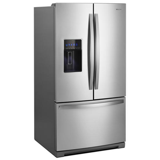 Model: WRF767SDHZ | Whirlpool 36-inch Wide French Door Refrigerator - 27 cu. ft.