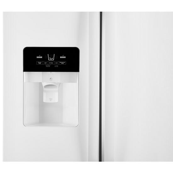 Model: WRS321SDHW   Whirlpool 33-inch Wide Side-by-Side Refrigerator - 21 cu. ft.