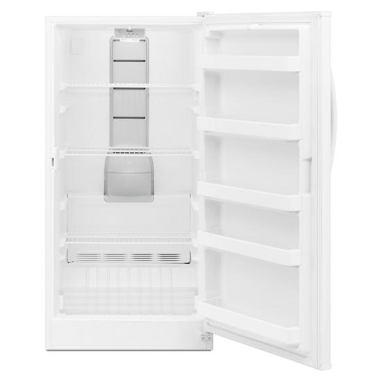 Model: WZF57R16FW | Whirlpool 16 cu. ft. Upright Freezer with Frost-Free Defrost