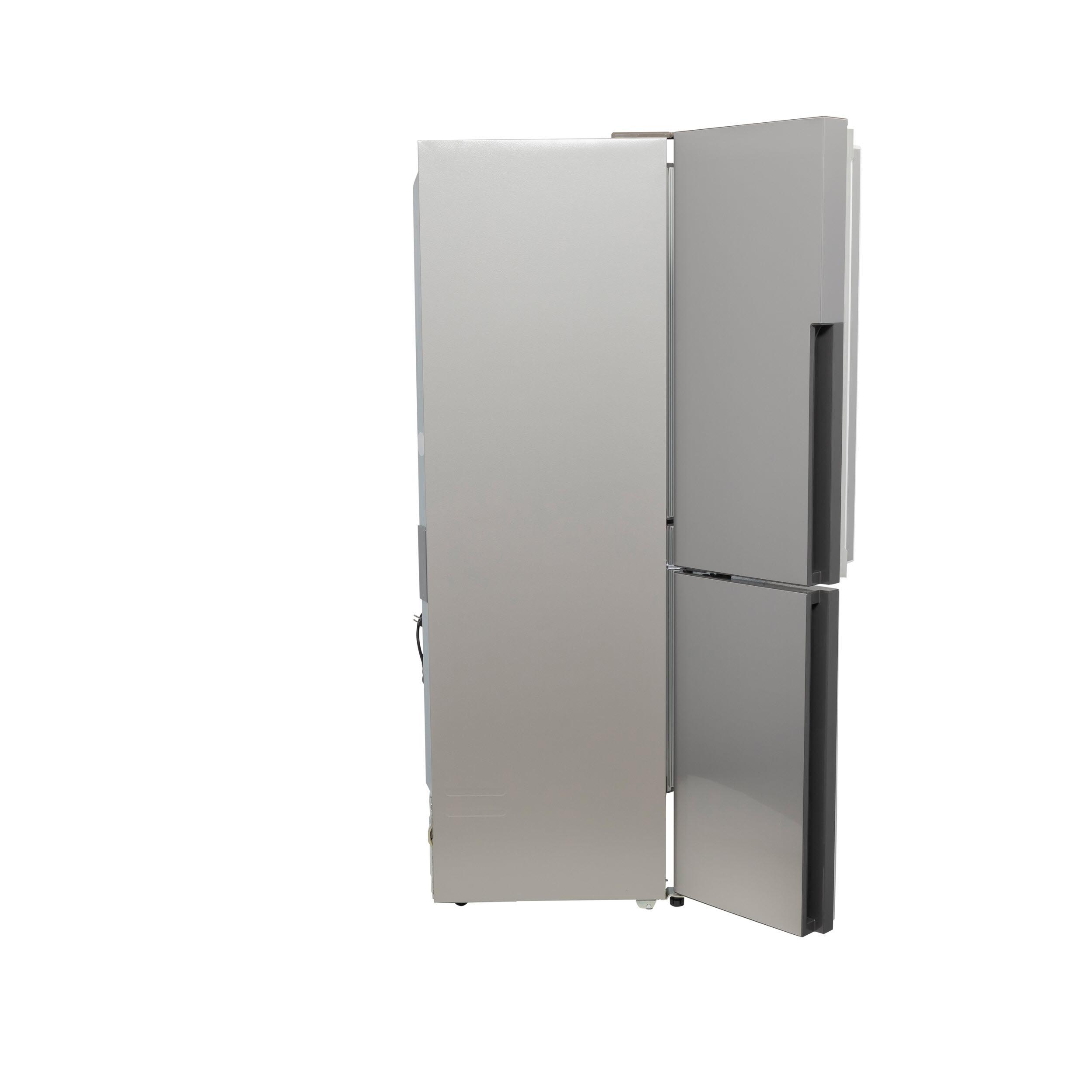 Model: QHE16HYPFS   Haier 16.4 Cu. Ft. Quad Door Refrigerator