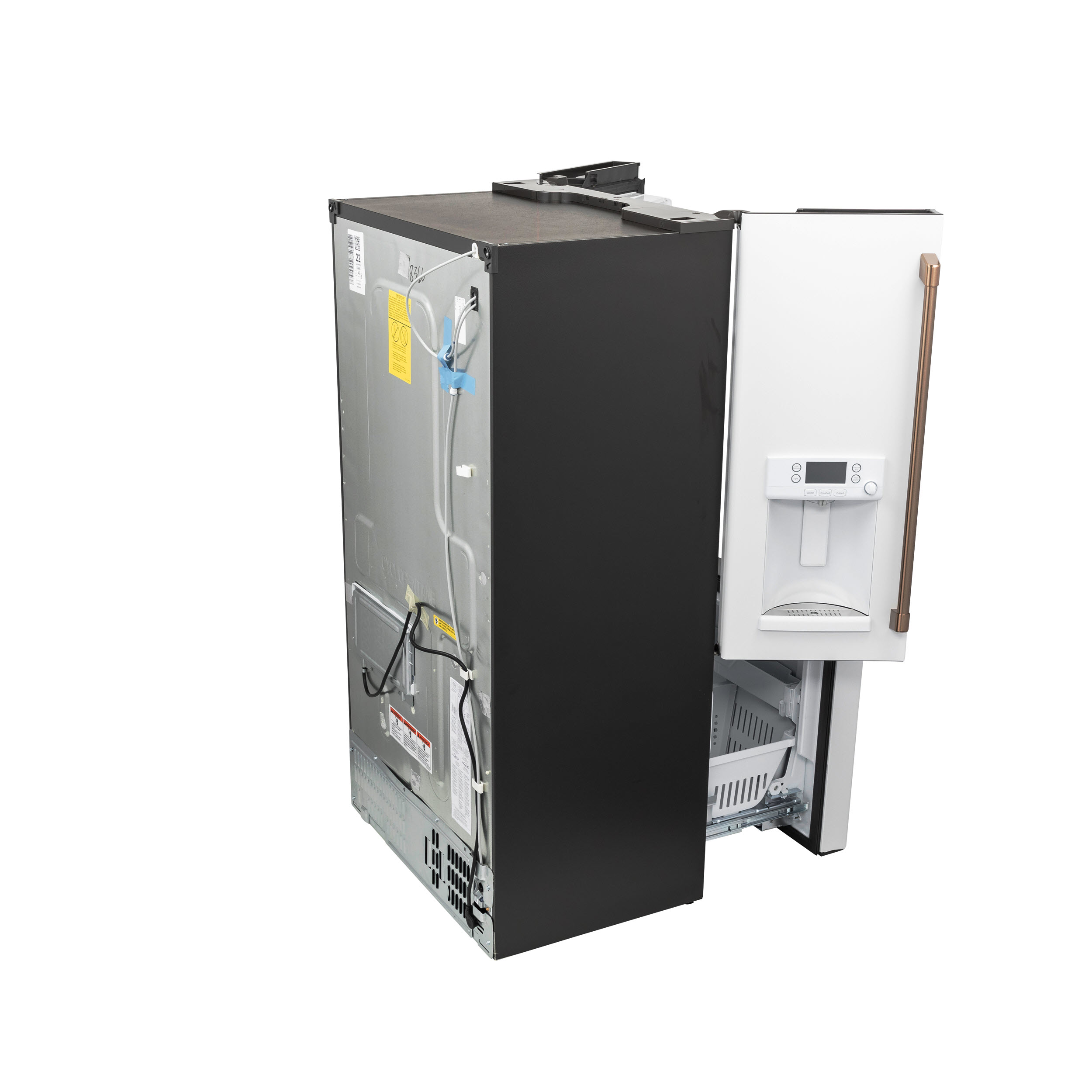 Model: CYE22TP4MW2 | Cafe Café™ ENERGY STAR® 22.1 Cu. Ft. Smart Counter-Depth French-Door Refrigerator with Hot Water Dispenser