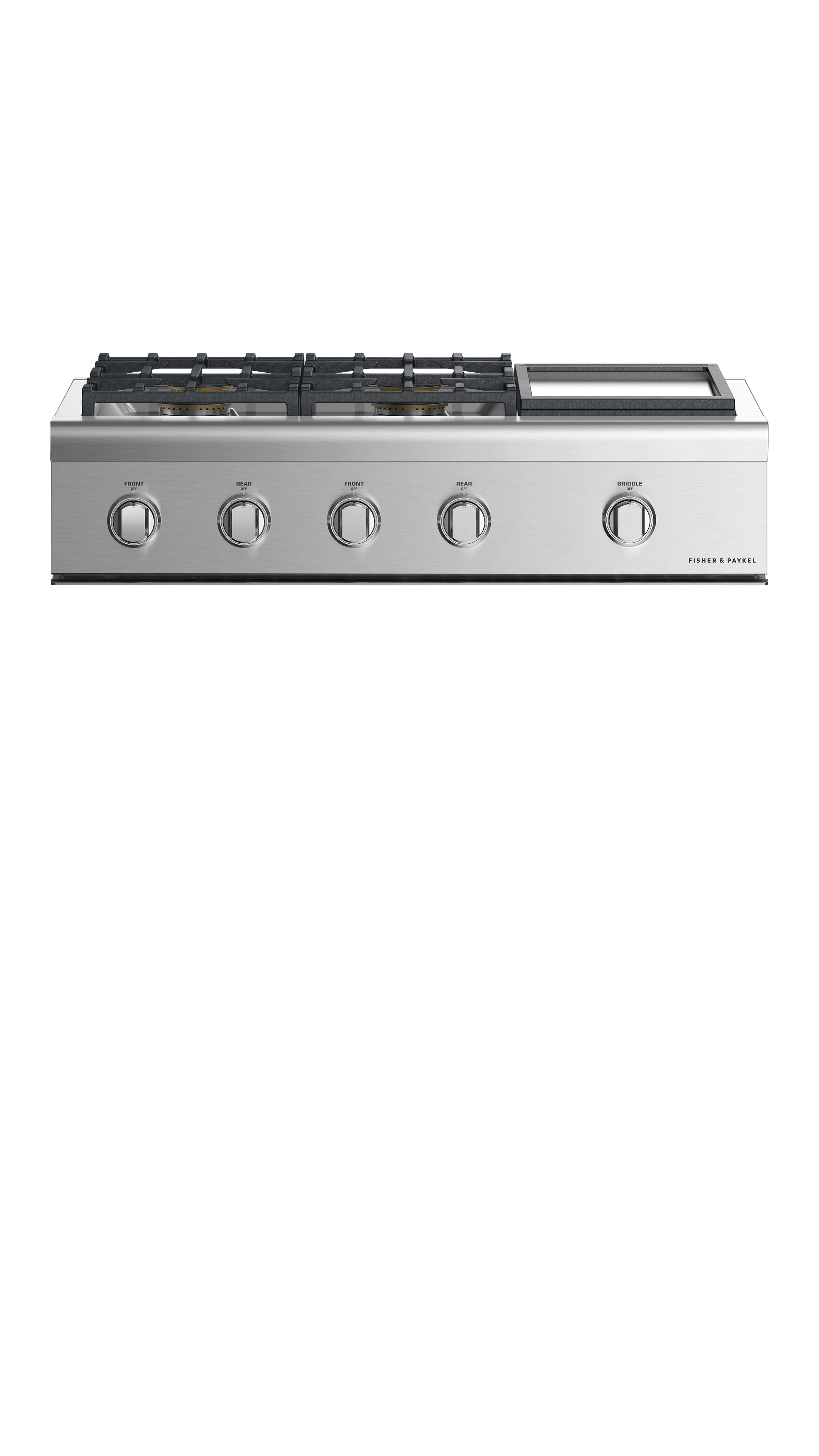 """Fisher and Paykel Gas Rangetop, 36"""", Griddle, LPG"""
