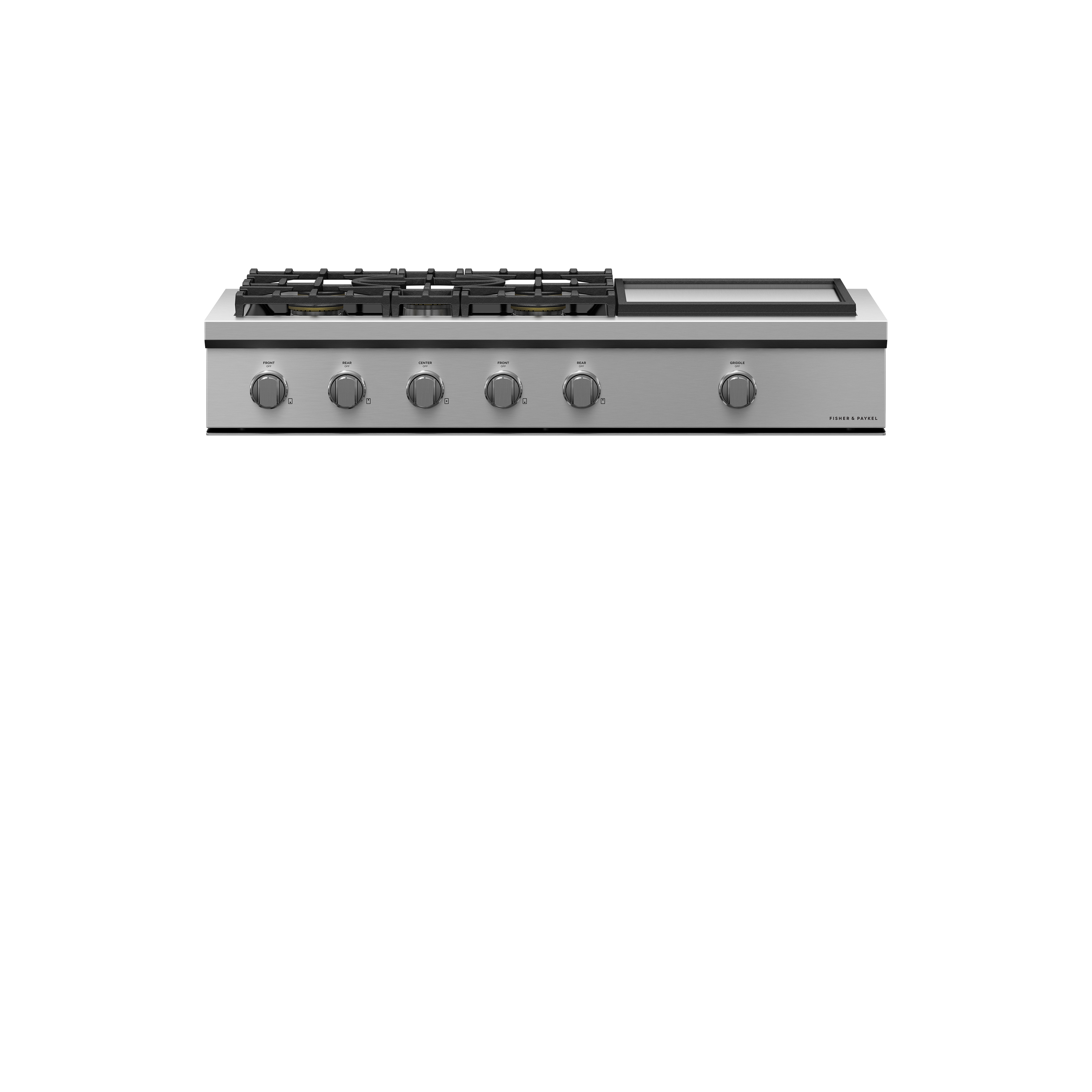 """Fisher and Paykel Gas Rangetop, 48"""", Griddle"""