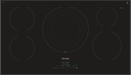 36 INCH MASTERPIECE SERIES INDUCTION COOKTOP, BLACK