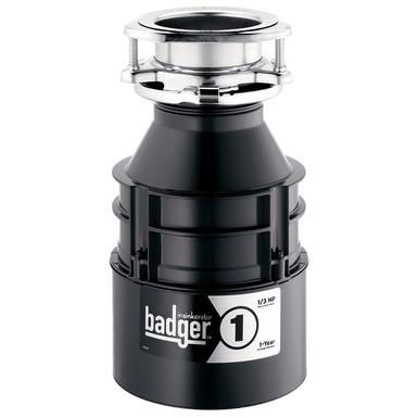 Badger 1 Garbage Disposal Without Cord
