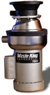 Waste King Commercial Garbage Disposal 1500-1, 1-1/2 HP Single Phase