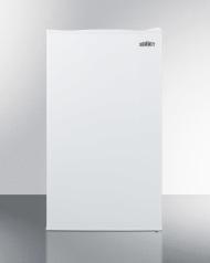 Includes door storage and adjustable glass shelves