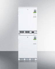 Stackable refrigerator-freezer combination