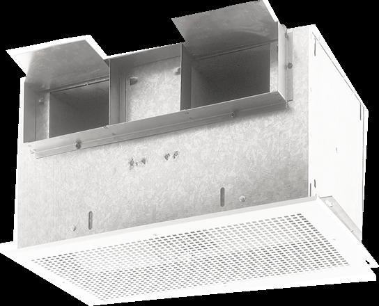 701 CFM High Capacity Ventilator, 4.7 Sones, 120V