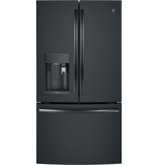 GE Profile™ Series ENERGY STAR® 22.2 Cu. Ft. Counter-Depth French-Door Refrigerator with Keurig® K-C