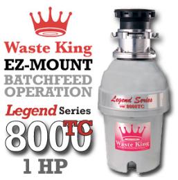 Legend 8000TC Legend Series Garbage Disposer