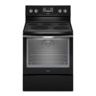 6.4 Cu. Ft. Freestanding Electric Range with AquaLift Self-Cleaning Technology