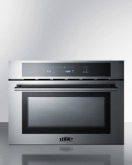 Combines a microwave, convection oven, and grill in one elegant 24