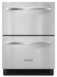 5.1 Cu. Ft. 24'' Double-Drawer Refrigerator Architect Series II