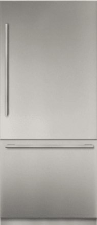36 - Inch Stainless Steel Built in 2 Door Bottom Freezer, Pre-Assembled, Professional Handle