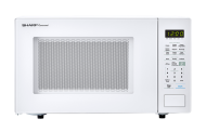 SHARP CAROUSEL COUNTERTOP MICROWAVE OVEN 1.4 CU. FT. 1000W WHITE