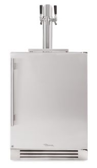 24 Inch Dual-Tap Beverage Dispenser