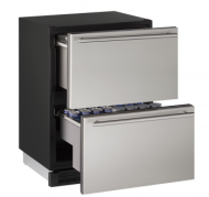 24 inch Solid Refrigerator Drawers