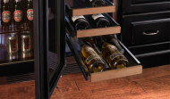 WOOD FRONTS FOR WINE SHELVES,  (15