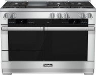 Model: 25195652USA | 48 inch rangeDual Fuel with M Touch controls, Moisture Plus and M Pro dual stacked burners