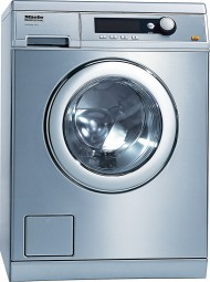 Front-loading washing machine with the shortest cycle of 49 minutes, model with drain pump.