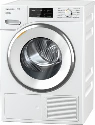 TWI180 T1 Heat-pump tumble dryer with WiFiConn@ct, FragranceDos, and SteamFinish.