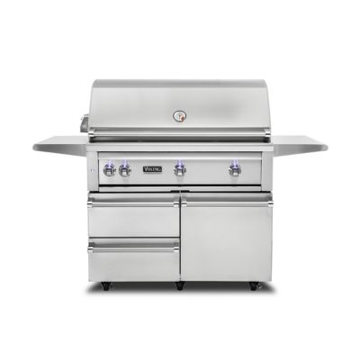 54: BUILT-IN GRILL W/PRO SEAR BURNER & ROTISSERIE - Natural Gas