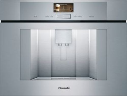 24-Inch Built-in Plumbed Coffee Machine with Home Connect
