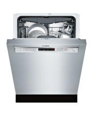 "Bosch 300 Series24"" Recessed Handle DishwasherSHEM63W55NStainless steel"