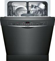 Bosch Ascenta®24 '' Recessed Handle DishwasherSHE3AR76UC - Black