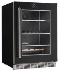 Silhouette Reserve all refrigerator beverage center. Left Hinge Door