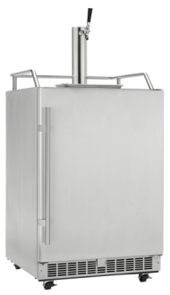 Outdoor rated Keg Cooler