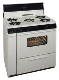 36 Inch Three-Way Top Electronic Spark Gas Range
