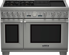 48 inch Professional Series Pro Grand Commercial Depth Dual Fuel Range