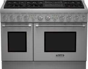 48 inch Professional Series Pro Harmony Standard Depth Dual Fuel Range