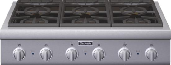 36 inch Professional Series Rangetop