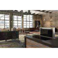 Scirocco Lux 30 Inch Down Draft Range Hood - Grey Glass