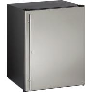 24-in. ADA Series Stainless Steel Solid Door, Field-Reversible Hinge Refrigerator