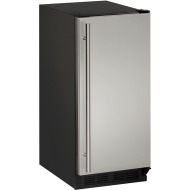 15-In. 1000 Series Stainless, Field-Reversible Crescent Ice Maker