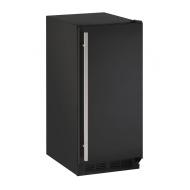 15-In. 1000 Series Black Solid Door Refrigerator with Reversible Door Hinge