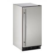 15-In. Outdoor Series Stainless Solid Door Refrigerator with Reversible Door Hinge