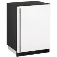 24-In. Combo White Solid Refrigerator/Freezer with Reversible Door Hinge