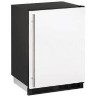 24-In. 1000 Series White Solid Door Refrigerator with Reversible Door Hinge