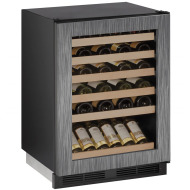 24-In. 1000 Series Integrated Frame Wine Captain with Reversible Door Hinge