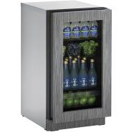 18-In. 2000 Series Integrated Frame Glass Door Refrigerator with Reversible Door Hinge