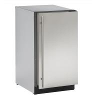 18-In 2000 Series Stainless Solid Door Refrigerator with Reversible Door Hinge