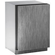 24-In. 2000 Series Integrated Solid Door Beverage Center with Reversible Door Hinge