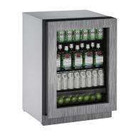 24-In. 2000 Series Integrated Frame Glass Door Refrigerator with Reversible Door Hinge