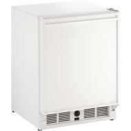 21-In. White Solid Door Refrigerator with Field-Reversible Hinge