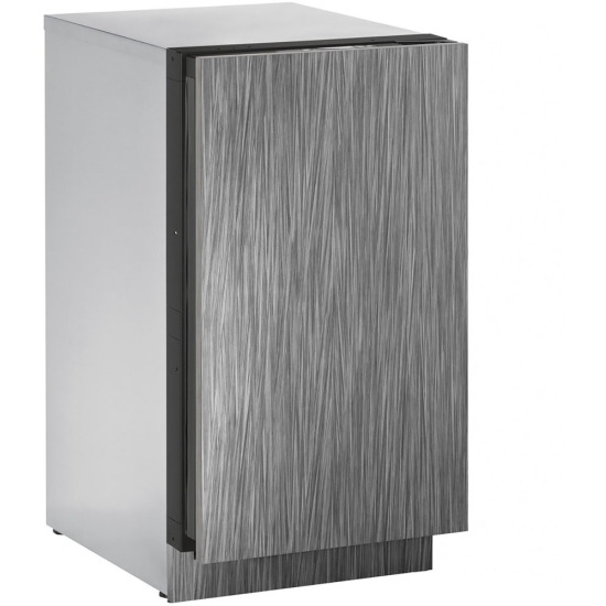 18-In. 3000 Series Integrated Solid Clear Ice Machine with Reversible Door Hinge, No Pump